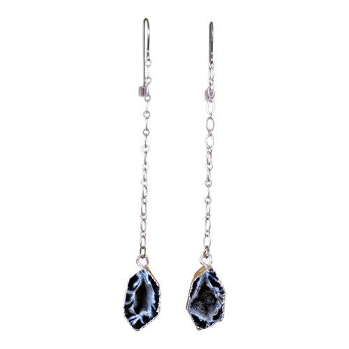 Rock Me - Agate Drop Earrings