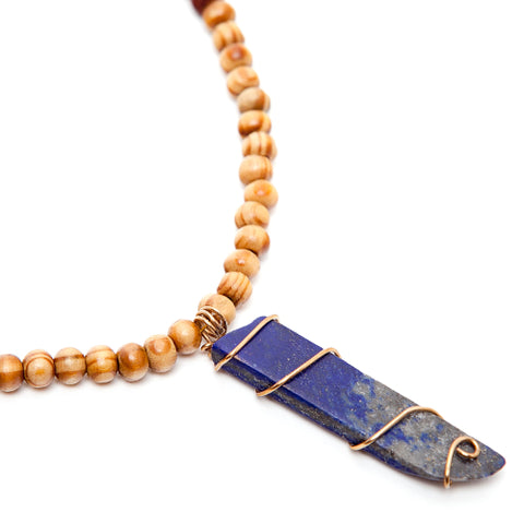 Royal Orleans - Men's / Unisex Lapis Lazuli Necklace