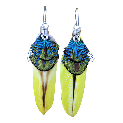 Natural Mystic - Feather Earrings