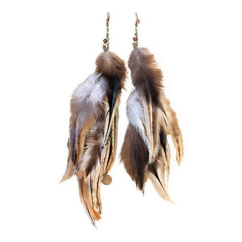 Shaman's Awakening - Feather Earrings