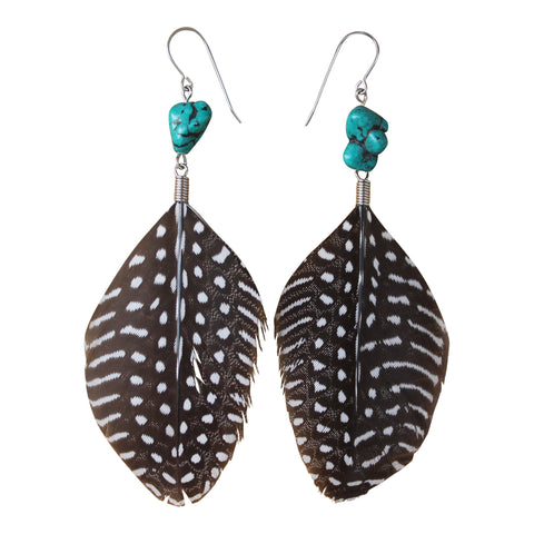Animism Feather Earrings