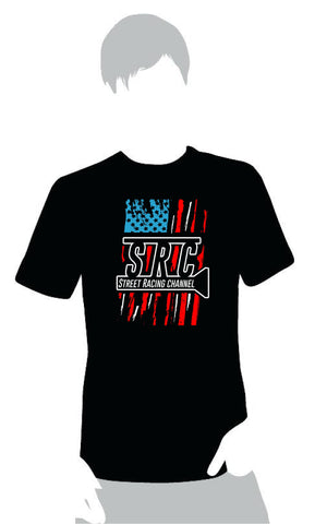 "American Flag Logo T-Shirt ""Gaptized"""