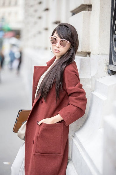 Visualization of Sound-Peach, Pink Mirror