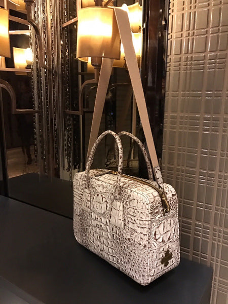The Perfect Bag - White & Brown