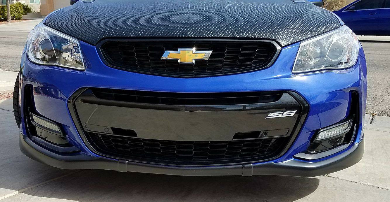16 17 chevy ss 6pc front end black out kit w fender vents 2015 Chevy SS Intake
