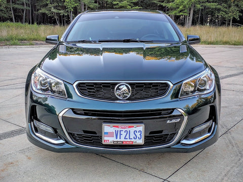 16-17 Chevy SS Holden Grille Kit w/ Trunk Lion Badge