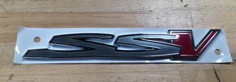 14-17 Chevy SS SSV Redline Badge