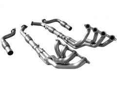 "ARH Pontiac GTO 05-06 1 3/4"" Headers w/mid Pipes Catted Long System"