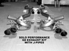 Solo Mach Balanced CAT Back Exhaust Kit 08-09 G8