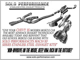 Solo Mach-XF-Balanced Exhaust Kit 14-17 Chevy SS