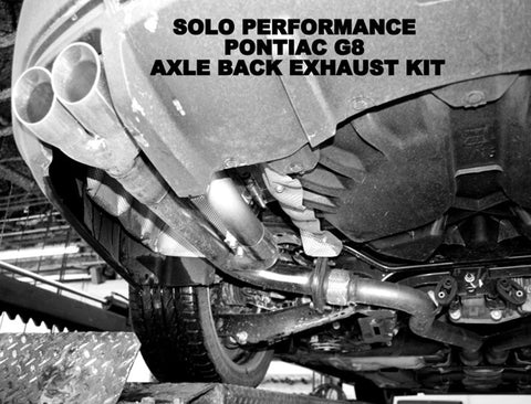 Solo Axle Back Exhaust Kit 08-09 G8