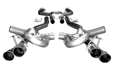 Solo Mach Shorty CAT Back Exhaust Kit 08-09 G8