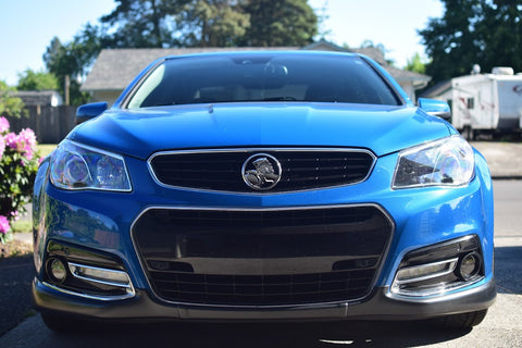 14-15 Chevy SS Holden Grille Kit w/ Trunk Lion Badge