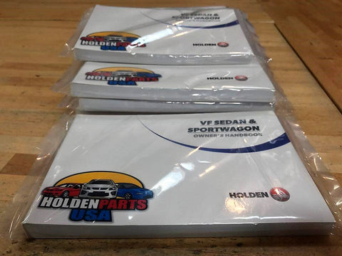 14-17 Chevy SS Holden Owners Manual
