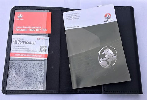 Holden Logo Owners Manual Wallet (Car Wallet)