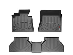 WeatherTech 14-17 Chevy SS Front & Rear FloorLiners - Black