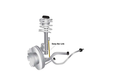 Whiteline 08-09 G8, 11-17 PPV, 14-17 SS Front Sway Bar End Link Assembly H/D Adj Steel Ball