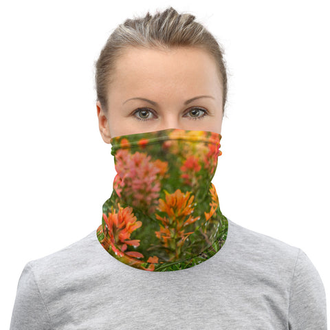 Prairie Paintbrush Neck Gaiter