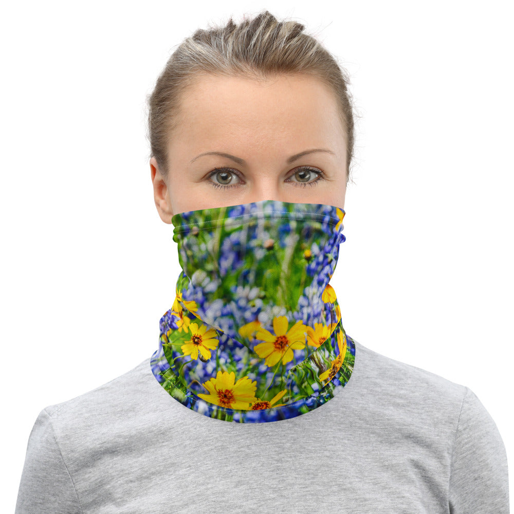 Texas Spring Face Cover/Neck Gaiter