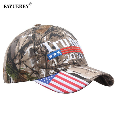 Trump 2020 Cap USA Flag Make America Great Again Re-Election Baseball Cap