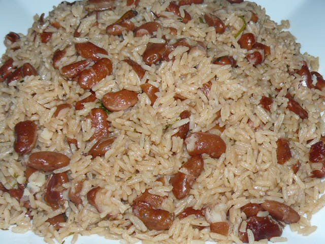 Traditional Rice and Beans