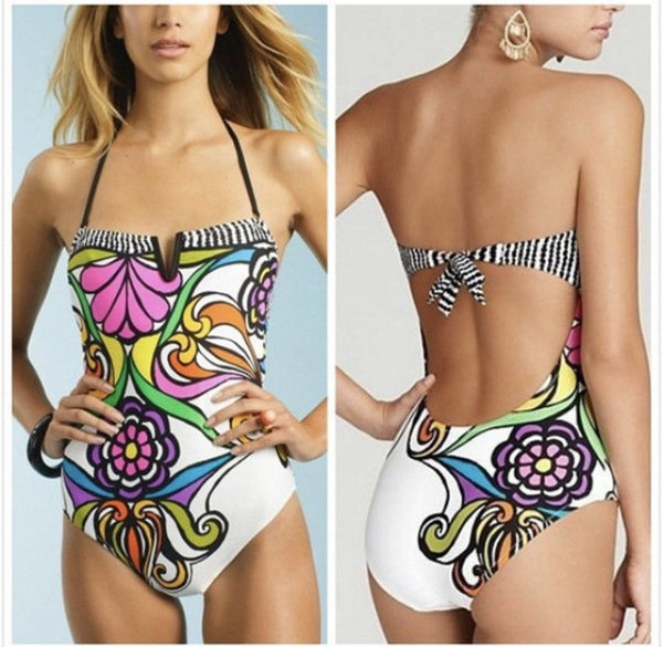 Bohemian One-Piece Swimsuit