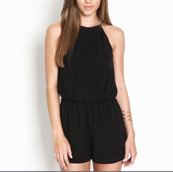The Sizzling Hot Halter Romper