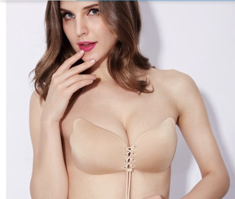 Silicone Push Up Strapless Invisible Bra