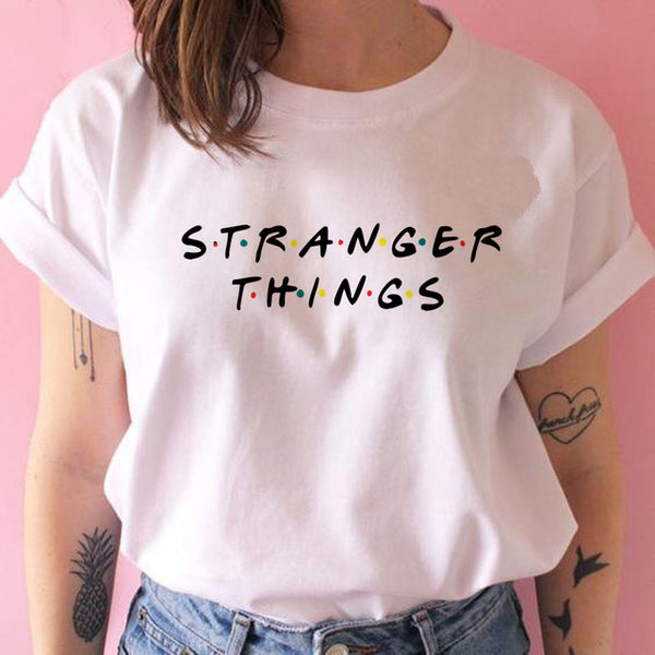 Stranger Things season 3 T Shirt Women Upside Down Tshirt Eleven Female Graphic grunge T-shirt femme tee Shirts funny clothing