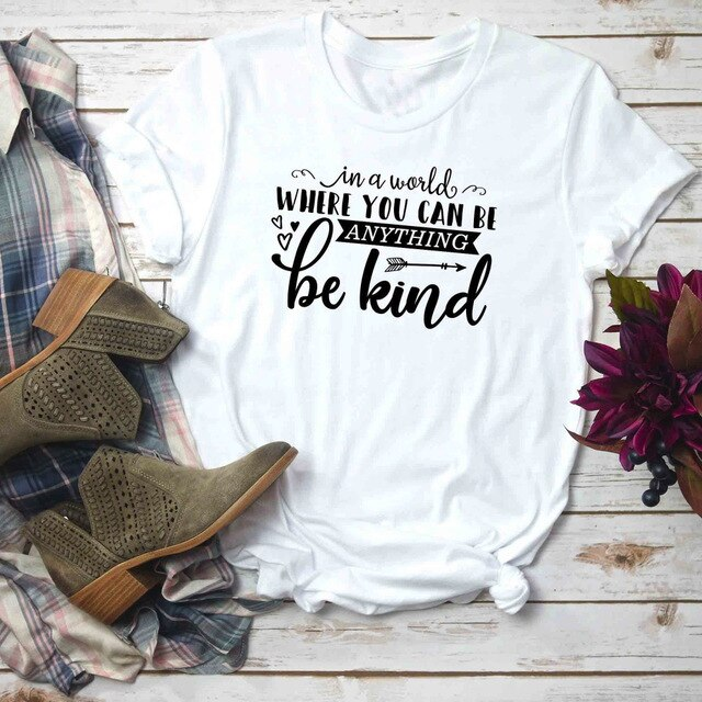 Women's Inspirational Anti-Bullying Quote T-Shirt