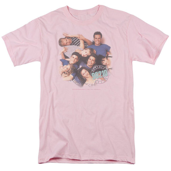 Beverly Hills 90210 Gang Picture Vintage Style T-Shirt
