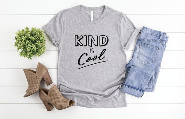 """Kind is Cool"" Anti-Bullying Unisex Graphic T-Shirt"