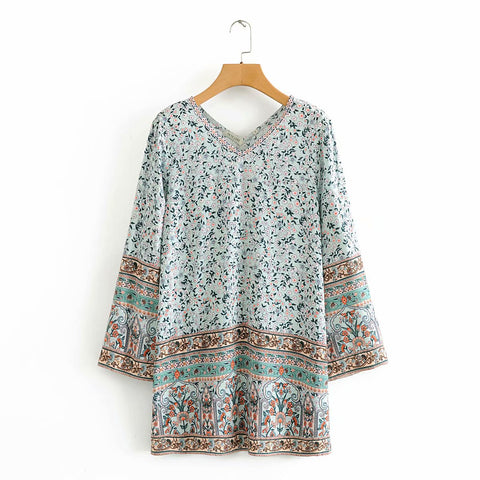 2020 new Spring Summer New Style European Green Shivering Short female dress zaraing vadiming sheining women dress WDD60337