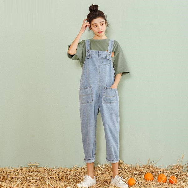 women clothing denim washed fabric rompers summer/autumn overalls women jumpsuits suspenders jeans women overalls  rompers jeans