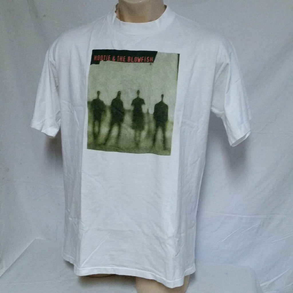 VTG Hootie And The Blowfish T Shirt Tour Concert Tee Rock 90s Counting Crows XL