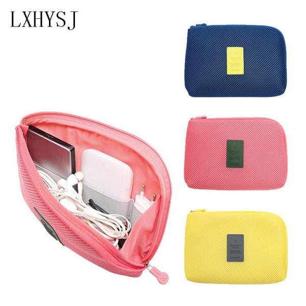 Travel shockproof digital storage package data cable charger finishing package Travel organizer essential travel accessories
