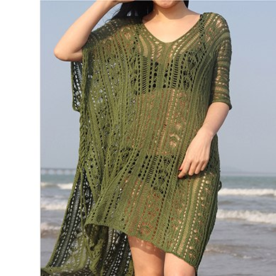 Beach Dress Tunic White Crochet Dress Women Boho Summer Sexy Vestidos Verano 2018 Robe Femme Plus Size Clothes Hollow Out Hippie
