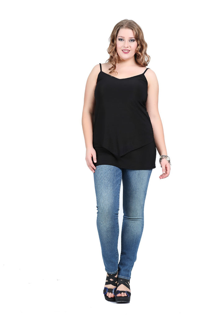 Women's Black Evening Tunic