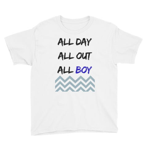 ALL BOY Youth Short Sleeve T-Shirt