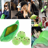 Baby Plush For Children Cute Pea Stuffed Plant Doll Toy