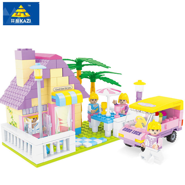 270pcs Building Block House Toy For Children