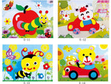 DIY - Animal 3D Foam Sticker Puzzle Early Learning Education Toys for Children