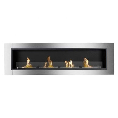 Buy Accalia Wall Mounted / Recessed Ventless Ethanol Fireplace| FREE Shipping