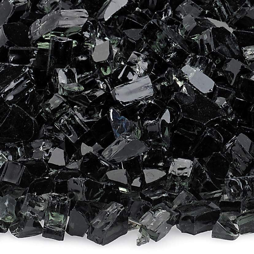 Buy American Fire Glass Black Fire Glass| FREE Shipping
