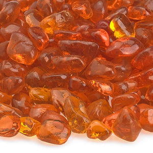 Buy American Fire Glass Crystal Orange Eco Glass Beads| FREE Shipping
