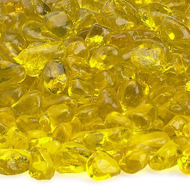 Buy American Fire Glass Crystal Yellow Eco Glass Beads| FREE Shipping