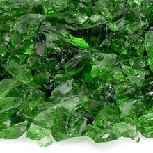 Buy American Fire Glass Light Green Recycled Fire Pit Glass| FREE Shipping