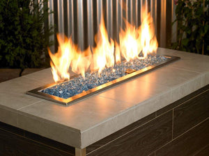 Buy Pacific Blue Reflective Fire Glass| FREE Shipping