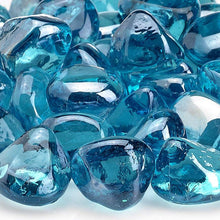 Buy American Fire Glass Powder Blue Zircon Fire Glass| FREE Shipping