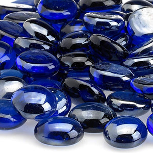 Buy American Fire Glass Royal Blue Uniform Fire Beads Glass| FREE Shipping